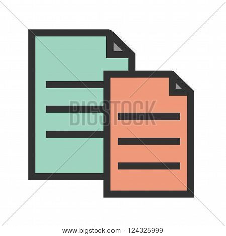 Paste, cut, copy icon vector image.Can also be used for text editing. Suitable for mobile apps, web apps and print media.