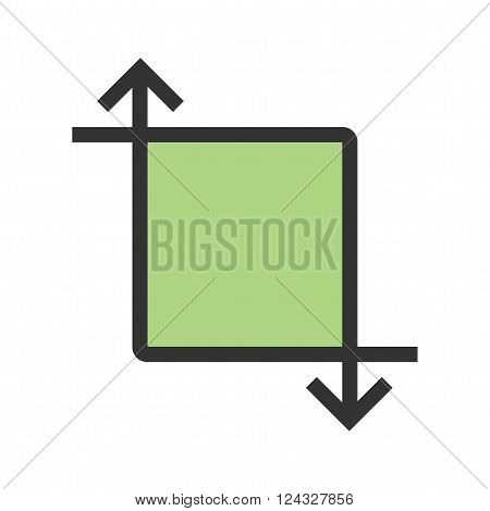 Picture, transform, video icon vector image. Can also be used for picture editing. Suitable for use on web apps, mobile apps and print media.