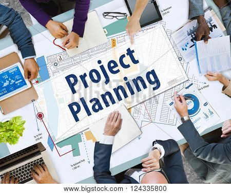Project Planning Strategy Vision Tactics Design Plan Concept