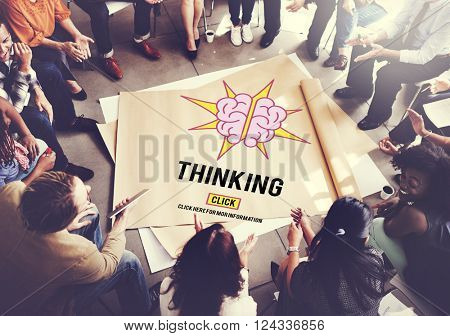 Thinking Visionary Mind Thoughtful Concept