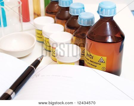 Still Life With Chemicals