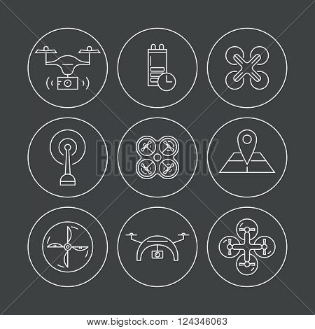 Drone Icon Collection