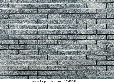 Modern grey marble prominent brick wall background