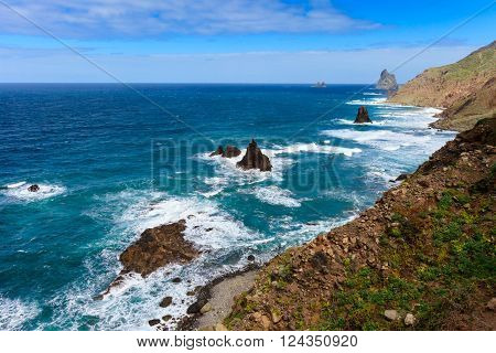 Beautiful Tenerife Landscape - Benijo Beach