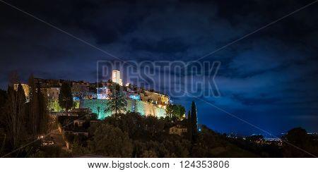 Saint Paul de Vence, France - Nocturnal