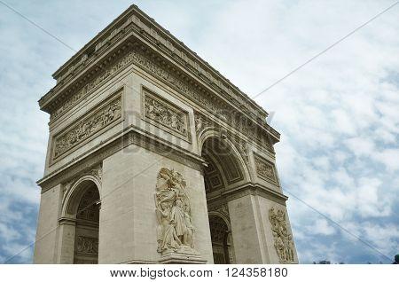 Arc de Triomphe Paris city  Arch of Triumph