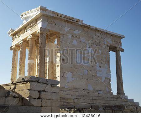 Athena Nike temple Acropolis Athens Greece
