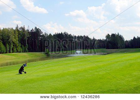 Campo de golfe