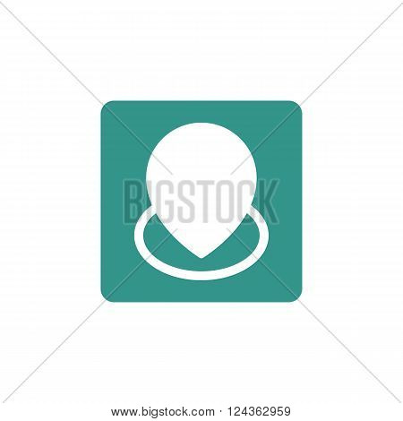 Location Icon In Vector Format. Premium Quality Location Icon. Web Graphic Location Icon Sign On Gre
