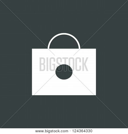 Briefcase Icon In Vector Format. Premium Quality Briefcase Icon. Web Graphic Briefcase Icon Sign On