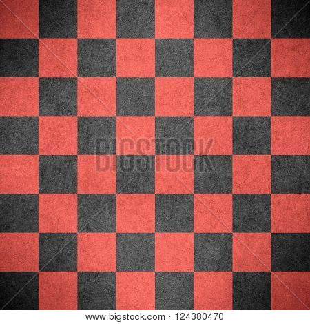 chequered pattern texture or red and black chessboard background check