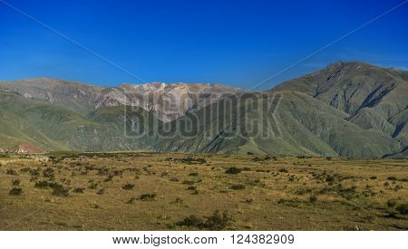 Volcano Hill In Humahuaca, World Heritage Site By Unesco, Jujuy, Argentina