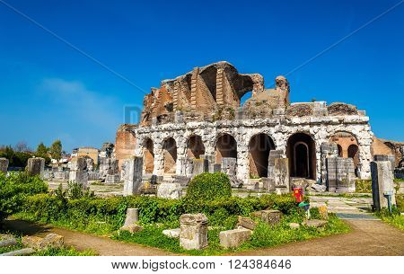 The Amphitheater of Capua, the second biggest roman amphitheater - Italy