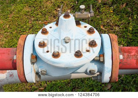Old pressure relief valves, control pressure valve.