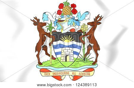 Antigua And Barbuda Coat Of Arms