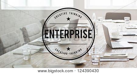 Enterprise Venture Firm Company Concept