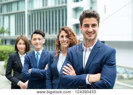 Professional business team