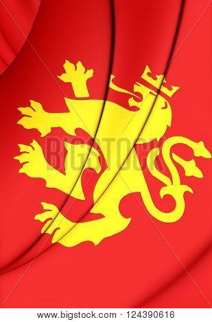 Flag Of Ethnic Macedonian Lion