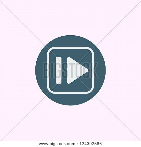 Music Forward Icon In Vector Format. Premium Quality Music Forward Icon. Web Graphic Music Forward I