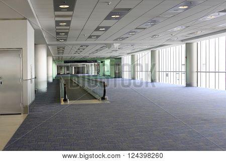 Miami International Airport Florida indoor. Miami, USA
