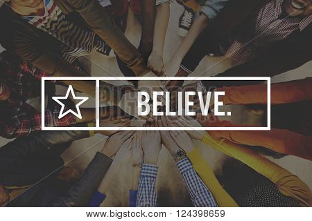 Believe Faith Religion Worship Mindset Belief Concept