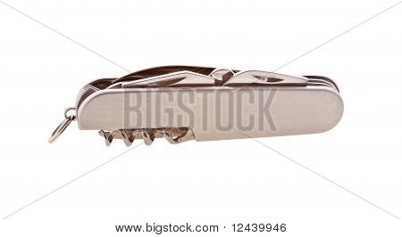 Pocket knife isolated