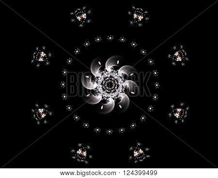 Elementary Particles Series. Interplay Of Abstract Fractal Forms On The Subject Of Nuclear Physics S
