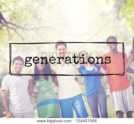 Generations Age Relationship Group Family Parent Concept