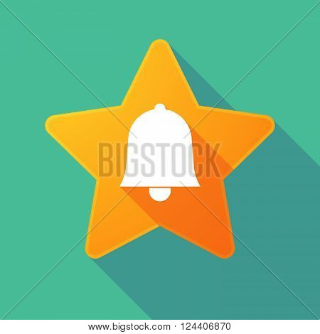 Long Shadow Star With A Bell