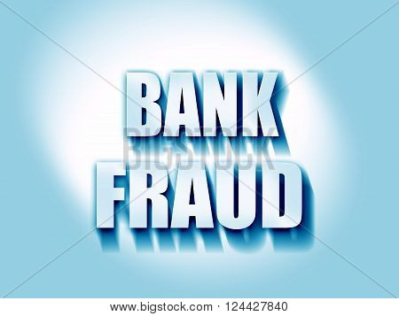 Bank fraud background with some smooth lines