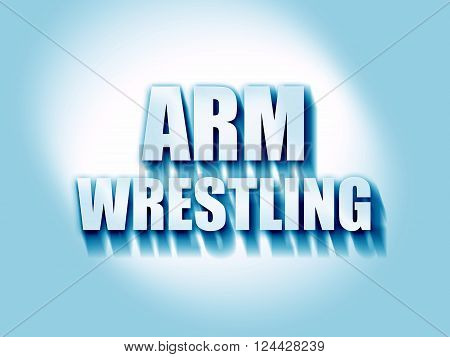arm wrestling sign background with some smooth lines