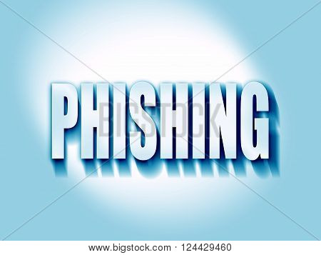 Phising fraud background with some smooth lines