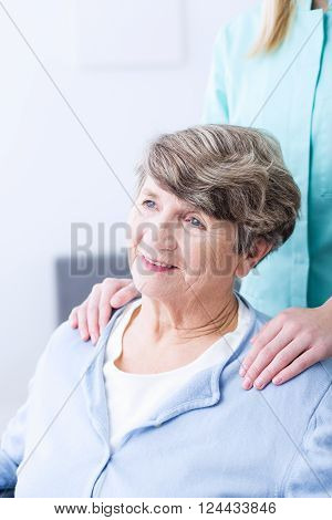Senior With Health Afflictions