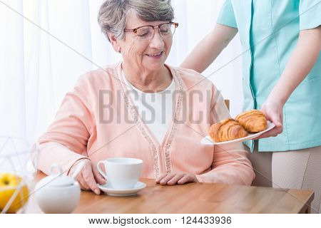 Senior Having Home Medical Care