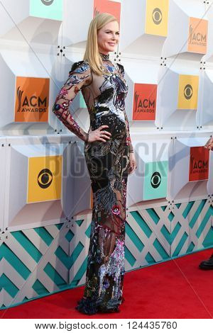 LAS VEGAS - APR 3:  Nicole Kidman at the 51st Academy of Country Music Awards Arrivals at the Four Seasons Hotel on April 3, 2016 in Las Vegas, NV