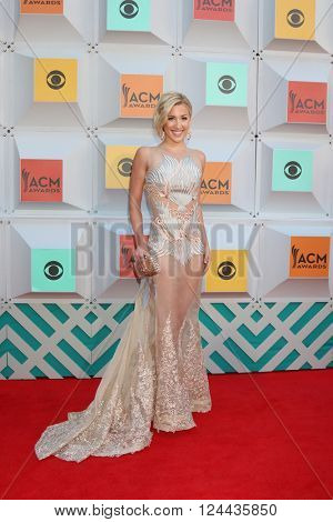 LAS VEGAS - APR 3:  Savanah Crisley at the 51st Academy of Country Music Awards Arrivals at the Four Seasons Hotel on April 3, 2016 in Las Vegas, NV