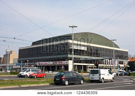 CROATIA ZAGREB 19 MARCH 2016: Vatroslav Lisinski Concert Hall Zagreb Croatia