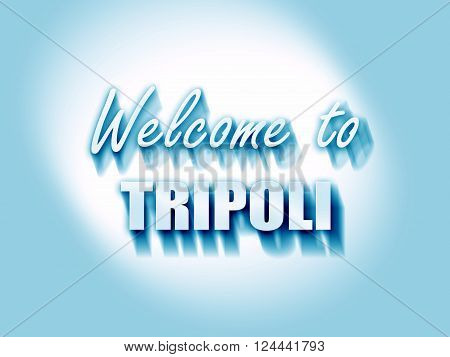 Welcome to tripoli with some smooth lines