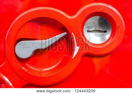 vending Machine Coin insert space