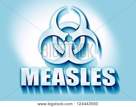 measles concept background with some soft smooth lines