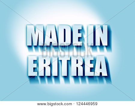 Made in eritrea with some soft smooth lines