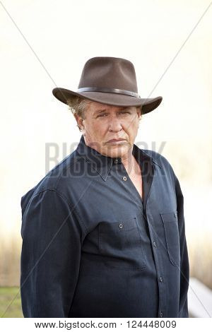 BEAUFORT, SOUTH CAROLINA-JANUARY 21, 2012: Hollywood actor Tom Berenger poses for an outdoor photo.
