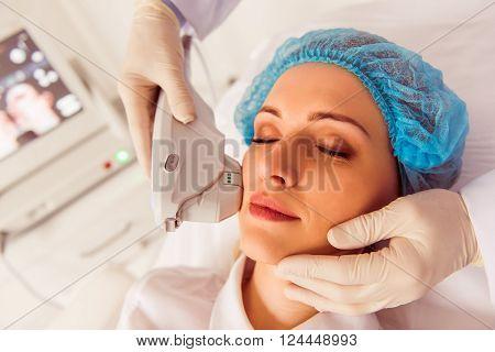 Woman At Medical Examination