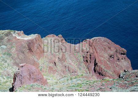 Landscape At Santorini, Greece