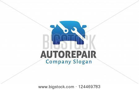 Auto Repair Creative And Symbolic Logo Design Illustration