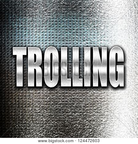 Grunge metal Trolling internet background with some soft smooth lines