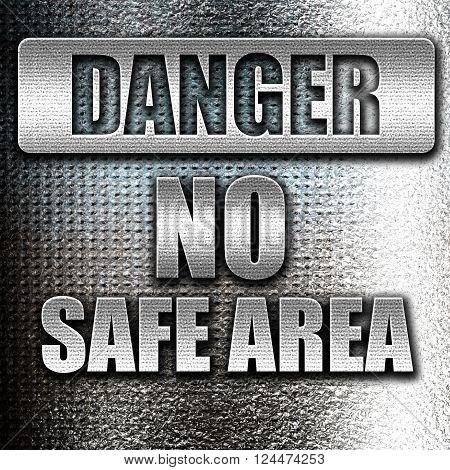 Grunge metal apocalypse danger background on a grunge background