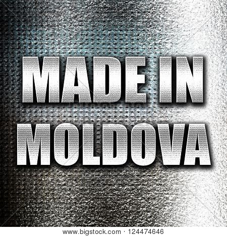 Grunge metal Made in moldova with some soft smooth lines
