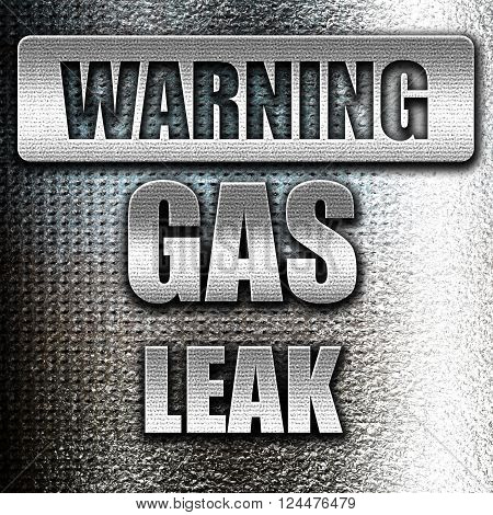 Grunge metal Gas leak background with some smooth lines