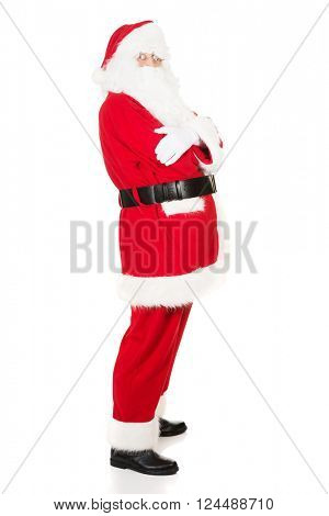 Santa Claus with folded arms